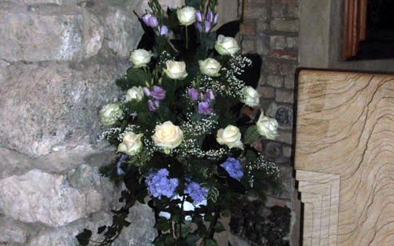 vaso di rose