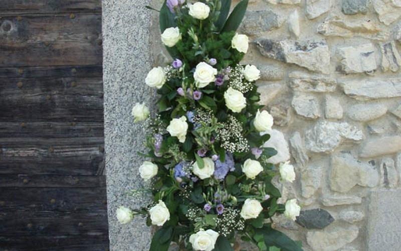 decorazione floreale esterna