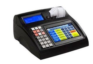 registratore di cassa con foglio