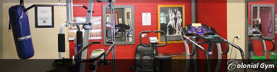 Modern gym equipment