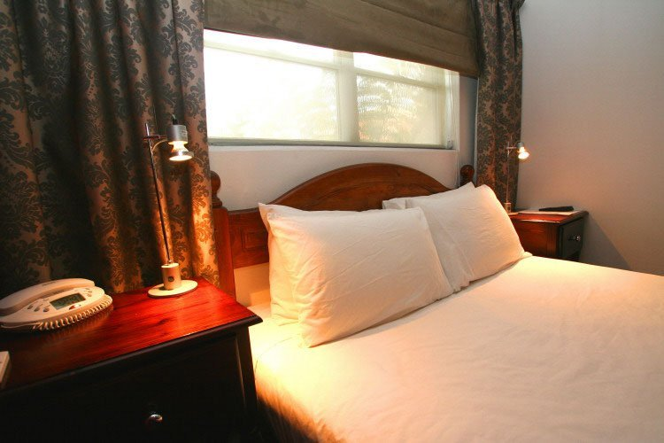 Beautiful executive suite with bed