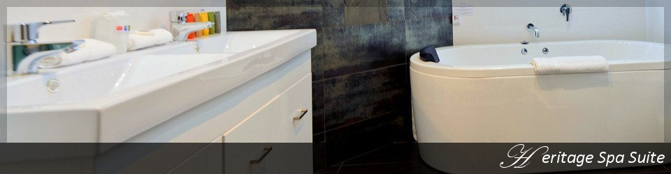 Heritage spa suite bathroom