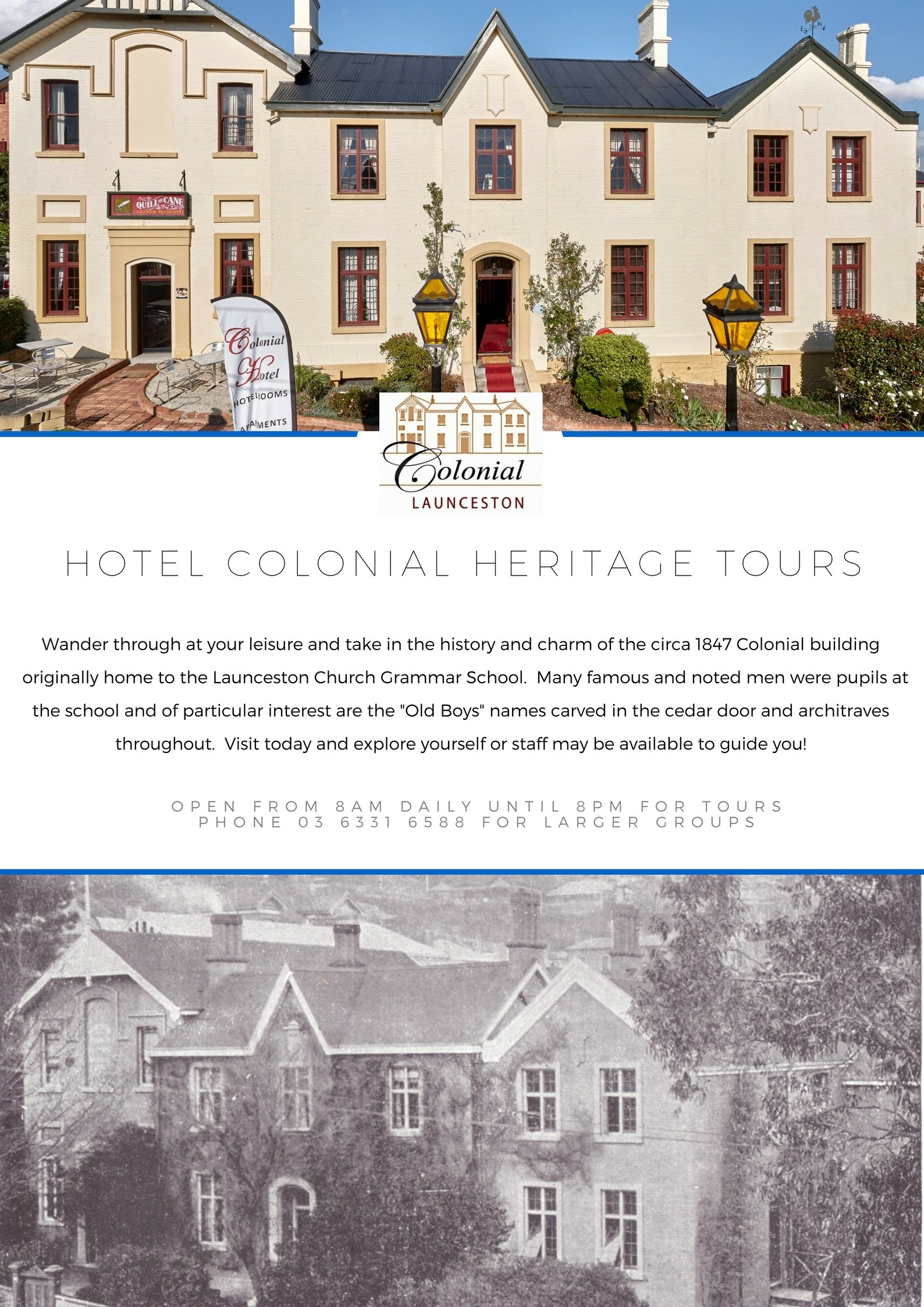 Hotel Colonial Heritage historic student image
