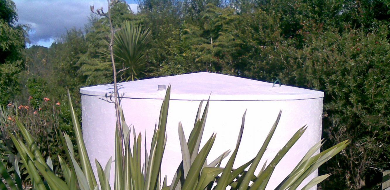 water tank construction in the Northland region
