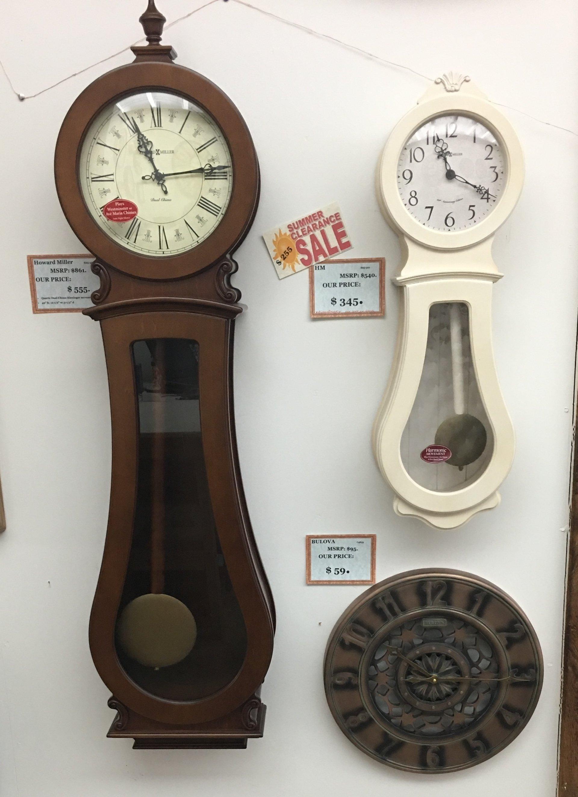 Clock Repairs and Sales | Austin, TX | McGuire's Clocks
