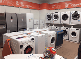 assortimento lavatrici