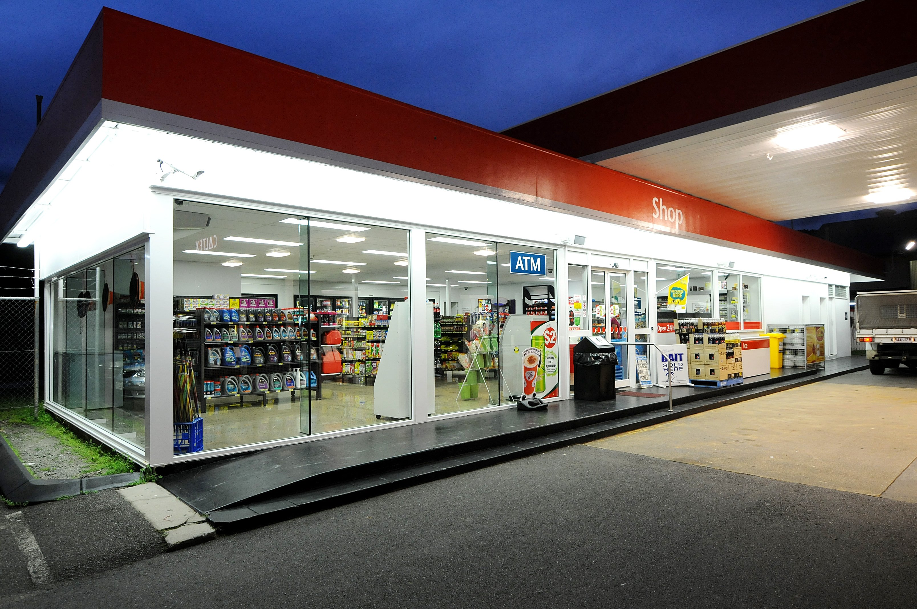 Caltex Cairns Commercial Renovation