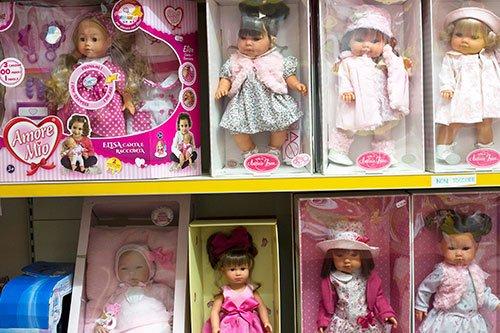 delle bambole