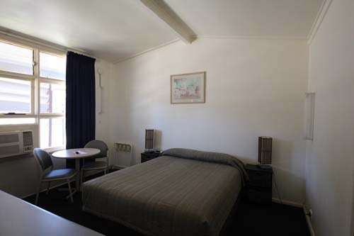 INterior view of the rooms at the motel