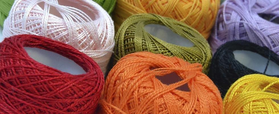 Filati di lana e cotone