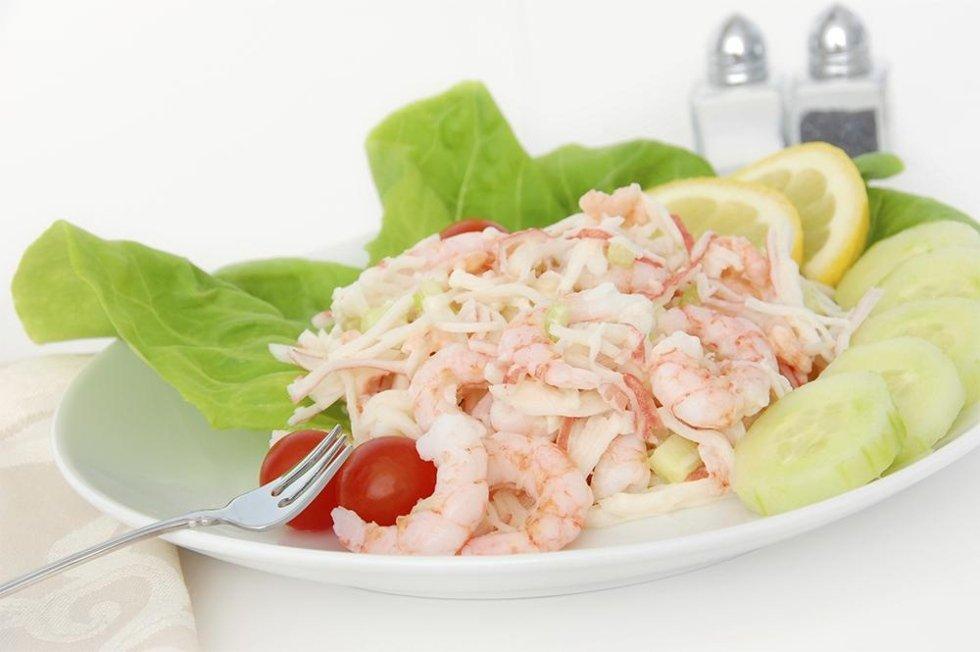 insalata di scampi