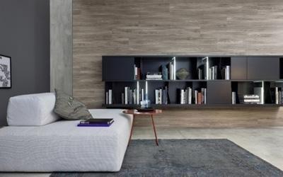Progettazione soggiorno Rubano