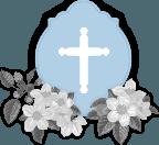 grafica lapide con crocifisso