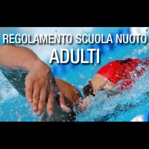 corso nuoto adulti