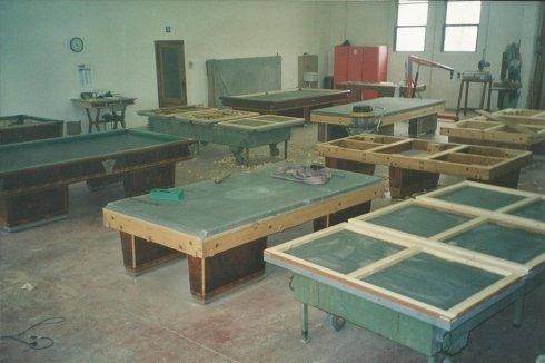 laboratorio riparazione biliardi
