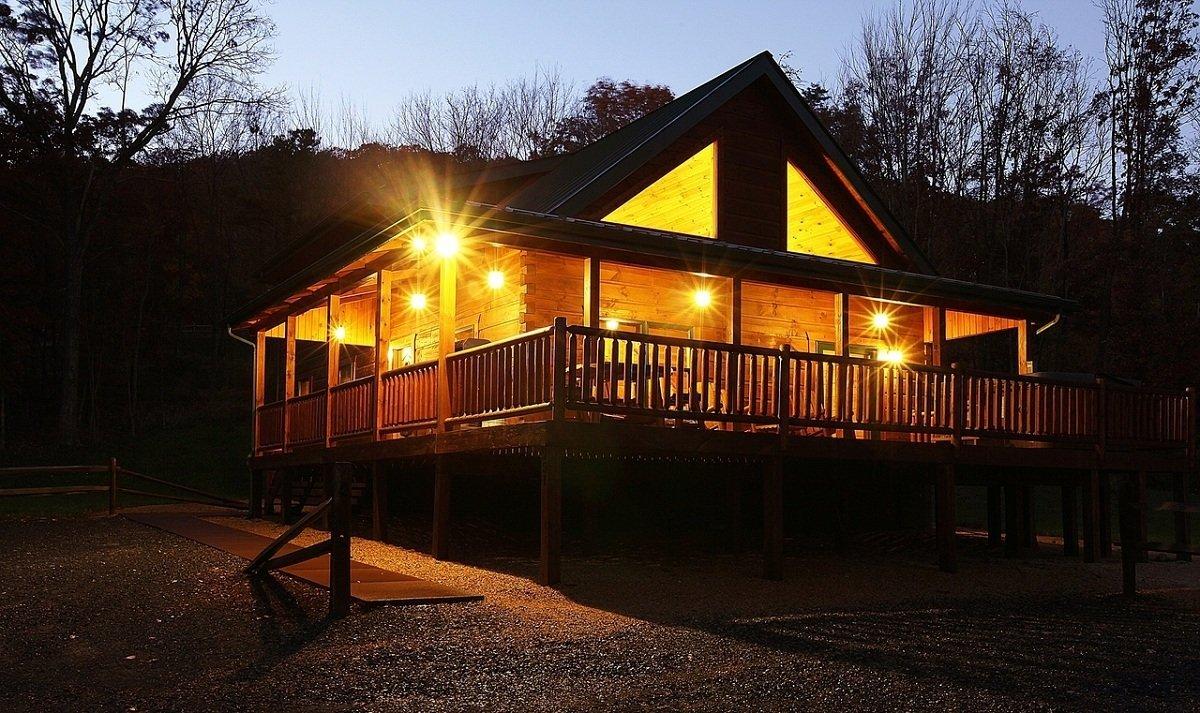 Ape cabin 3 shenandoah valley luray va mountain vacation for Perfect cabin