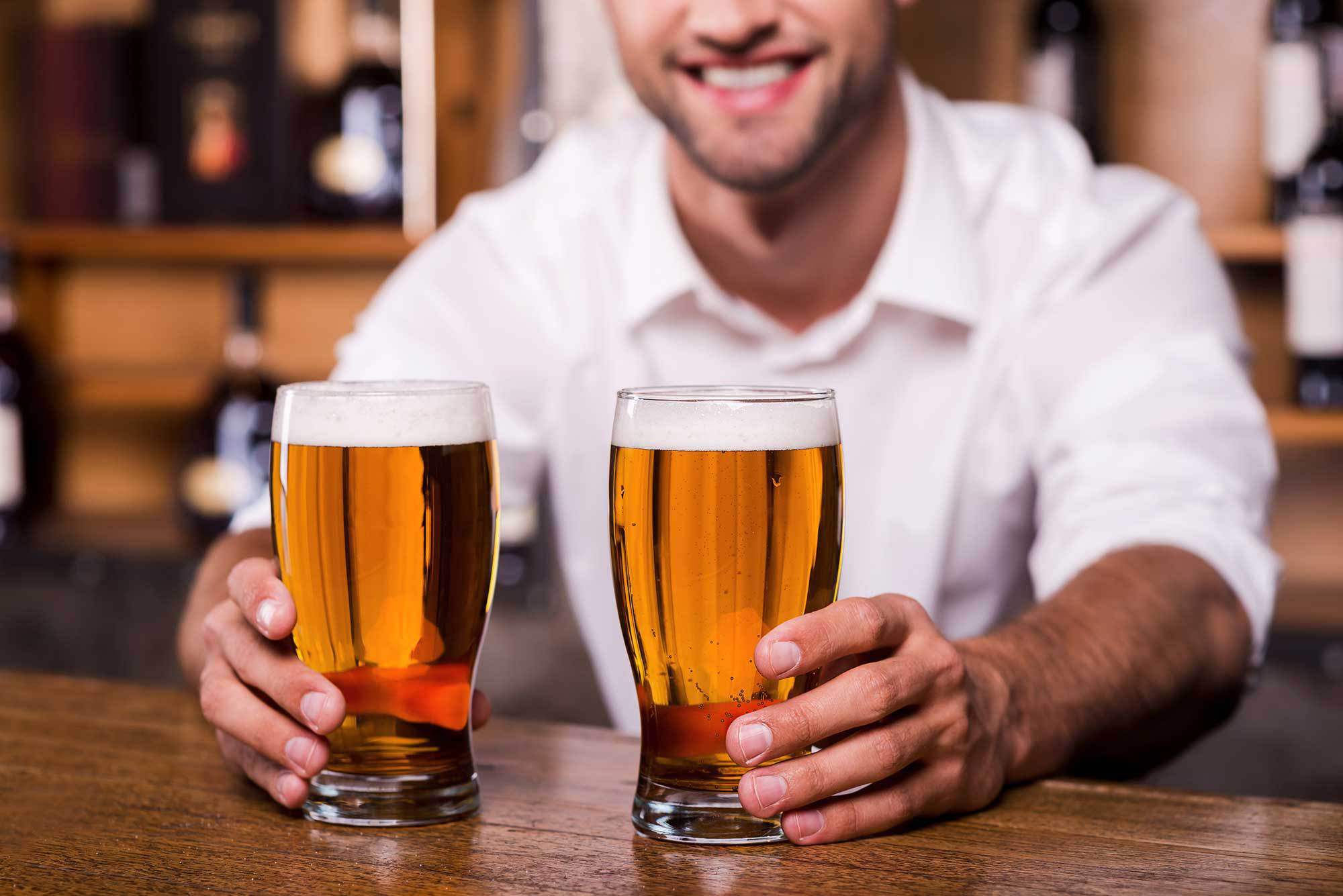 Monday Night Trivia pub tap
