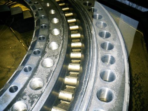 lavori di rettifica industriale