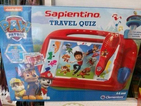 Sapientino travel quiz
