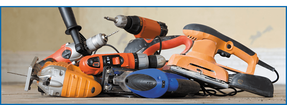 Hand power tools - Pembrokeshire - J Gerallt Davies & Son - Power tool repair