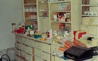 Farmacia Romani locale interno