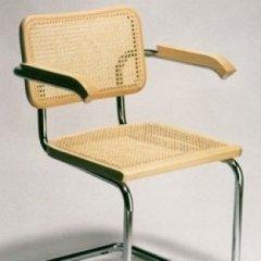 sedia metallo e paglia di vienna