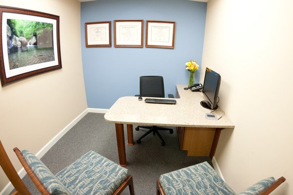 Consultation room in Laurelwood Dentistry
