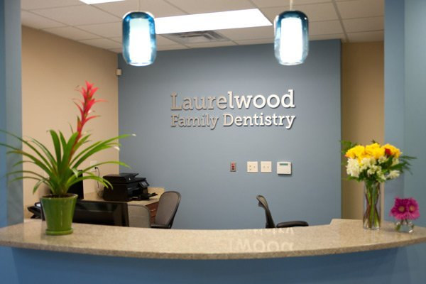 reception area of Laurelwood Dentistry