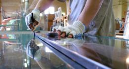 lavorazione del vetro per l'arredamento
