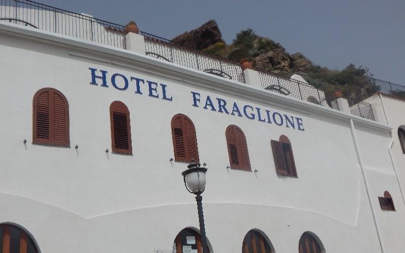 Ingresso Hotel Faraglione