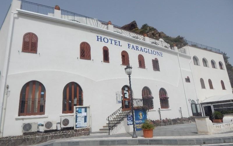 Ingresso albergo Hotel Faraglione