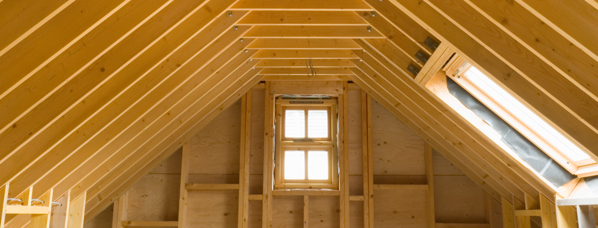 sturdy timber roofing