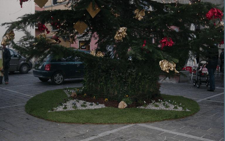 albero decorato