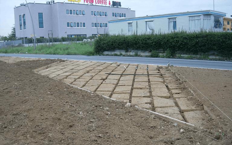 cementazione giardino