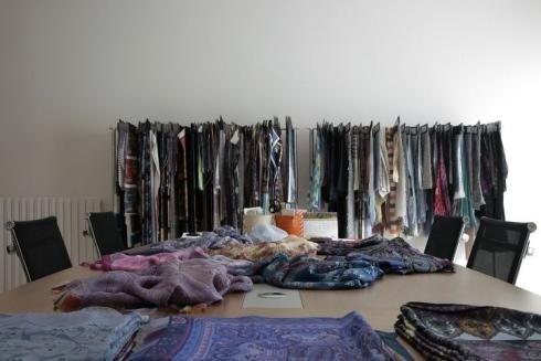 tessuti per alta moda como