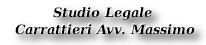 Studio legale Carrattieri
