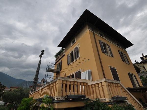 Realizzazione terrazza in villa