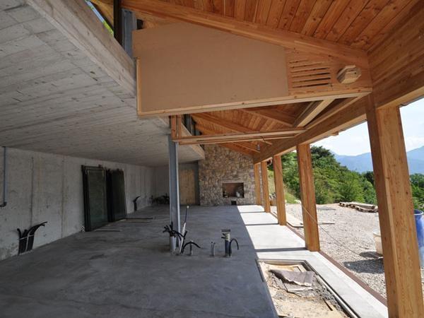 Edificio in montagna