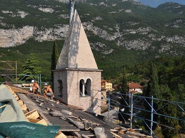 Restauro copertura Chiesa
