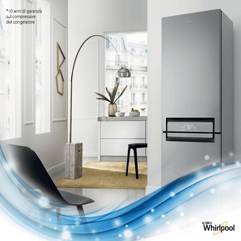 Elettrodomestici e apparecchi elettronici vari: frigorifero, microonde, impianti hi-fi, stampanti