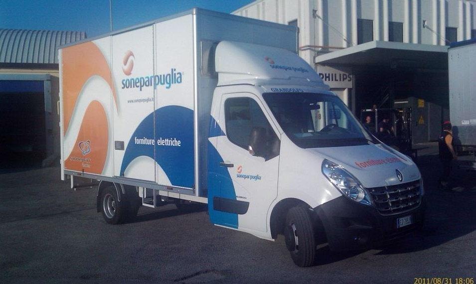 adesivi pubblicitari furgoni