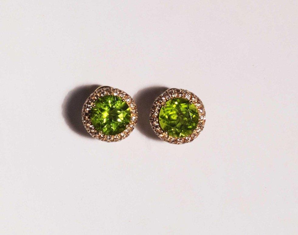 Peridoti diamanti brown