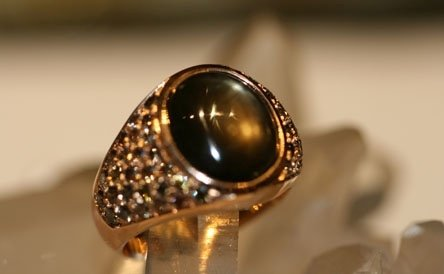zaffiro nero stellato