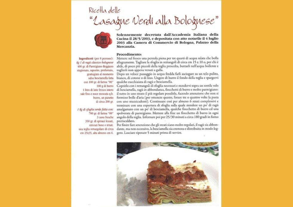 ricette lasagne Bolognesi