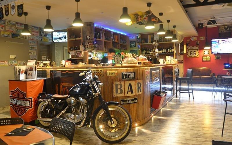 pub bikers a roma