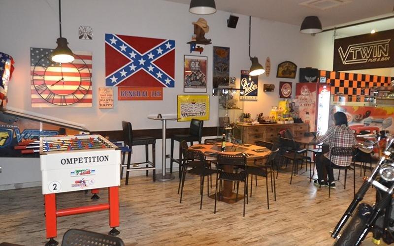 interno del locale VtWin pub & bar