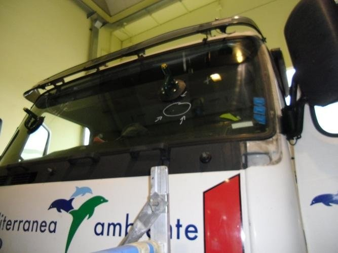 Riparazione vetri camion