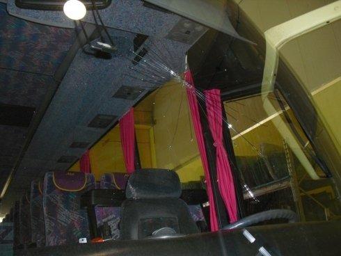 parabrezza autobus