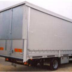 centina regolabile per furgoni