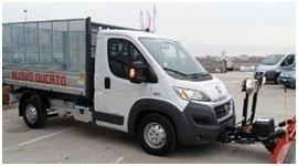 allestimenti in lega leggera per furgoni